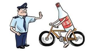 In bicicletta ubriaco? Si al reato di guida in stato di ebbrezza, ma niente sospensione della patente